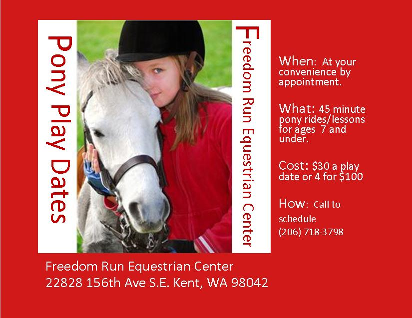 Riding lessons for young riders